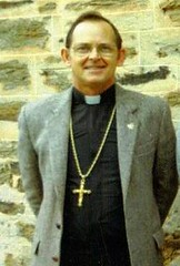 Rev. John Kinsman 1984. Rector from 1978-1994