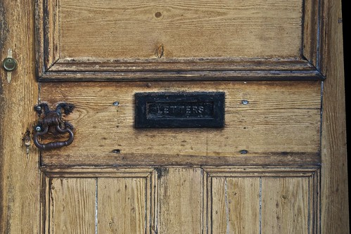 Door Knocker and Letterbox, Lavenham