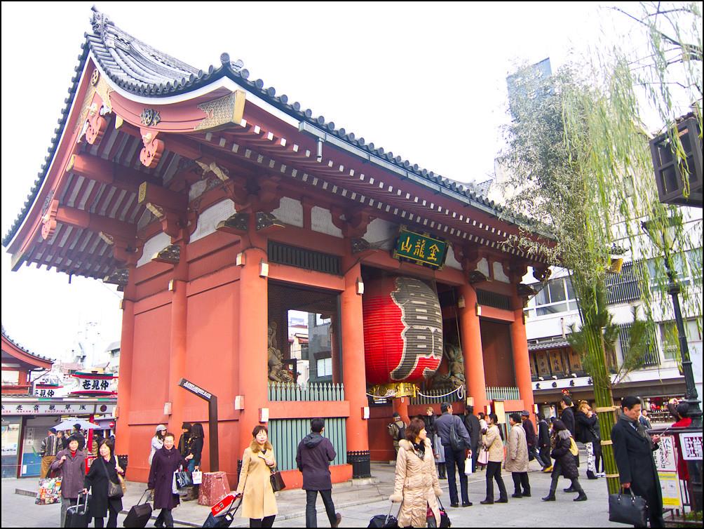 viajar a tokio kaminarimon la puerta de los truenos de