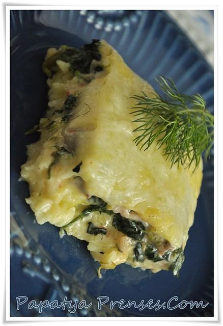 püreli ıspanak graten (1)