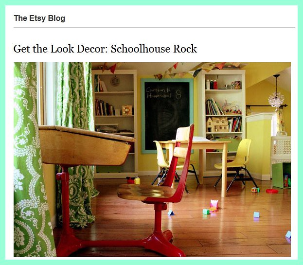 "Etsy's ""Get the Look Decor"" Feature"