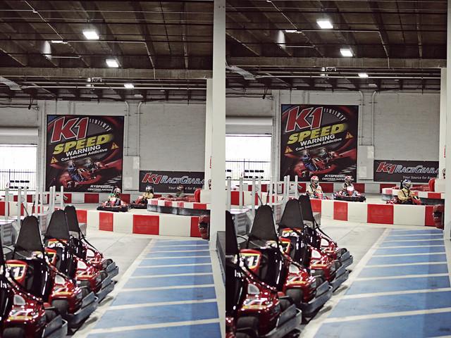 work go-karts 17 diptych