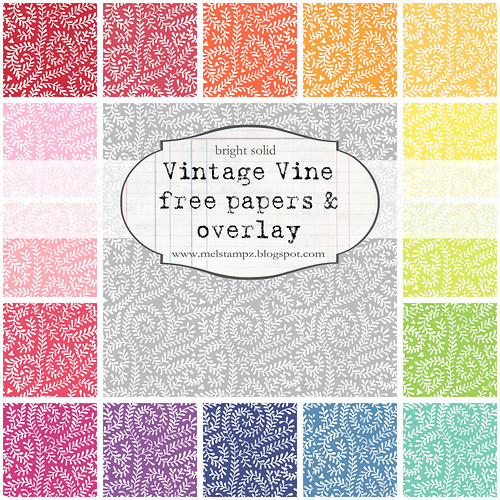 Vintage Vine BRIGHT solid preview