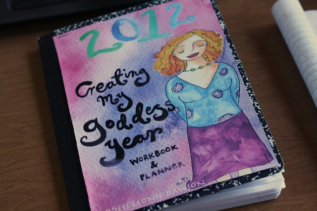 2012 Creating My Goddess Year workbook