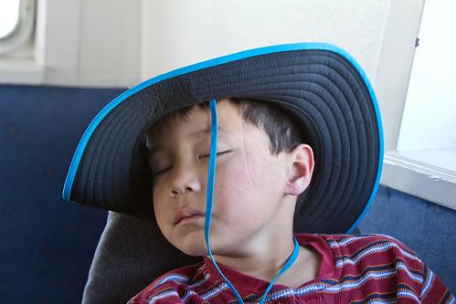 Sleeping Josh