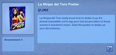 La Ninjas del Toro Poster