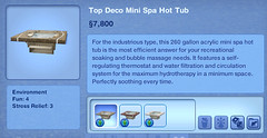 Top Deco Mini Spa Hot Tub