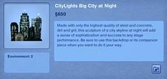 CityLights Big City at Night