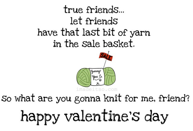 true friends let friends have yarn