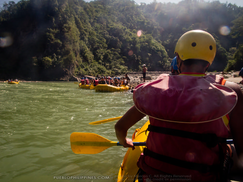 White Water River Rafting - Tabuk - Kalinga, Philippines (103213 - 120123)