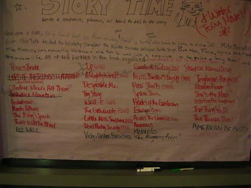The movie list