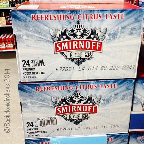 14/3/2014 - two-fer {this is from my youth...no 24th of May camping weekend was complete without one!)  #photoaday #smirnoff #twenty-four #24