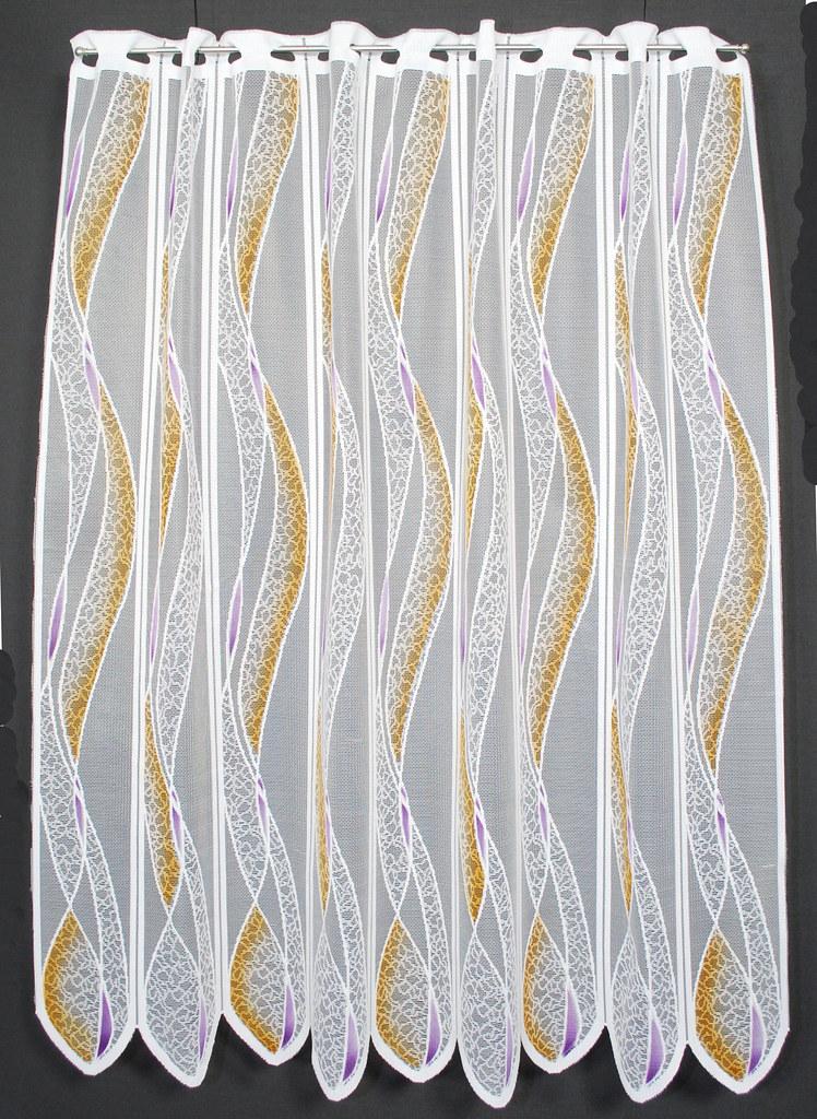 11 5 cm breite scheibengardine 110 cm hoch mit welle ebay. Black Bedroom Furniture Sets. Home Design Ideas