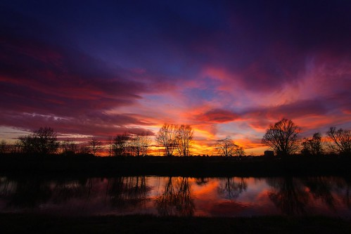 sunset reflection silhouette clouds canon river eos severn fisheye worcester diglis 60d