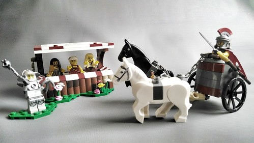 Lego Roman fight