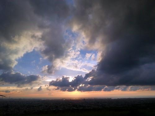 sunset cloudy dusk 日落 黃昏 多雲