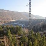 Transsibérien - Krasnoyarsk - Le barrage