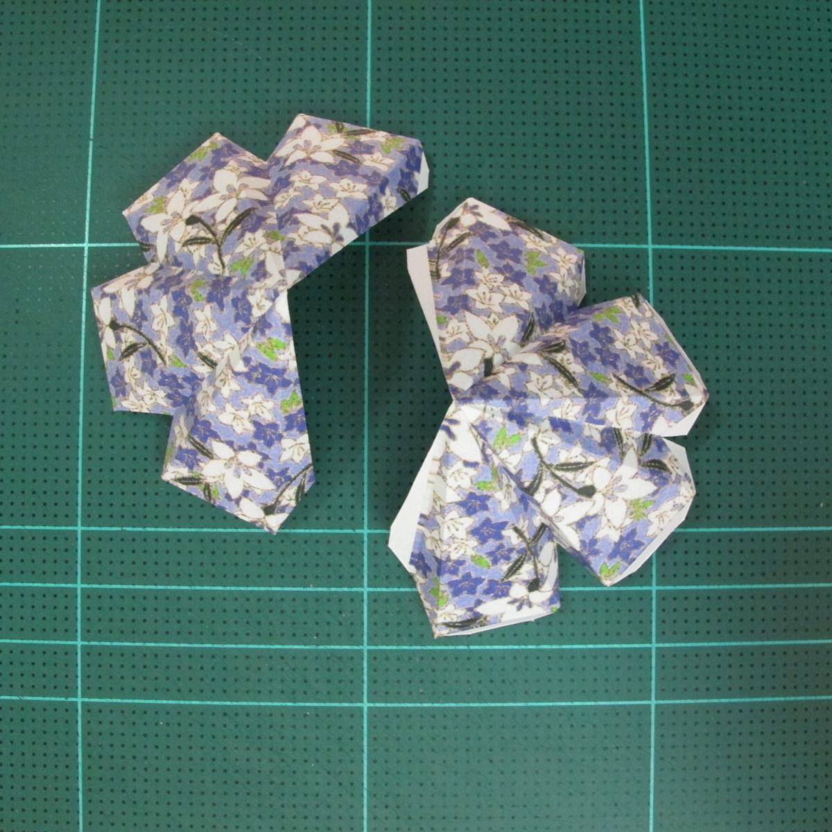 วิธีทำโมเดลกระดาษสำหรับตกแต่งทรงเรขาคณิต (Decor Geometry Papercraft Model) 003