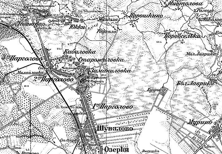 Парголово, Михайловка