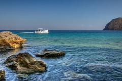 Boat near Lipari
