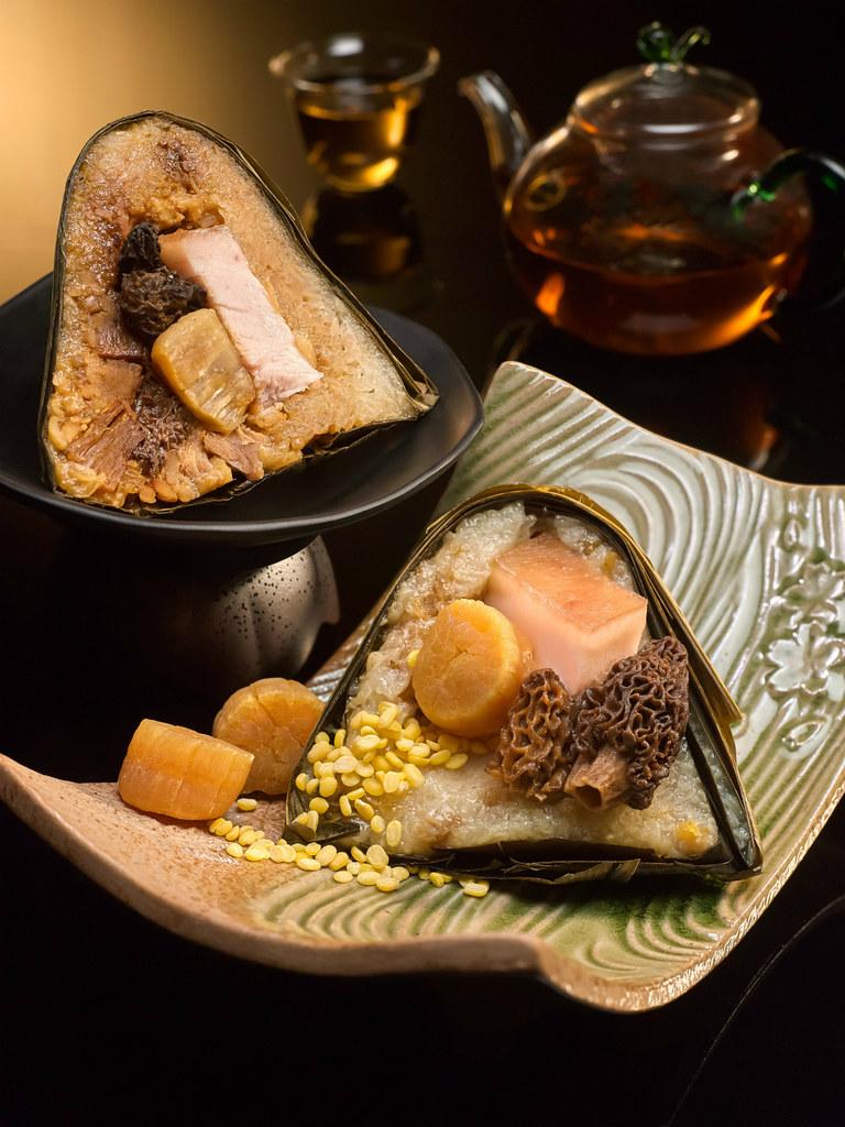 万豪中餐厅-羊肚菌、干贝