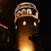 Small photo of Galata Tower by Night
