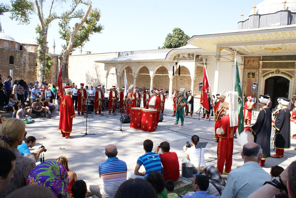 Show at Topkapi Palace