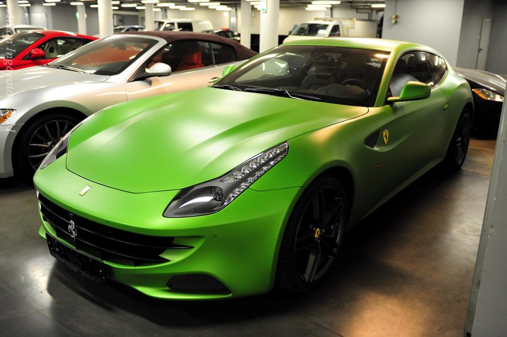 Green Ferrari Ff A Photo On Flickriver
