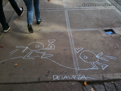 De la Vega chalk art in East Village_21