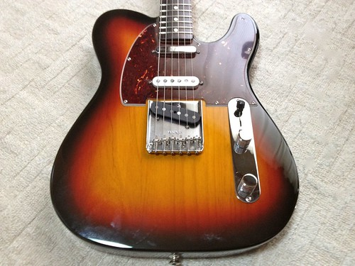 Fender Mexico DX Nashville TL BS/R