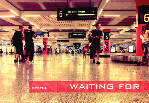 Waiting for, air station