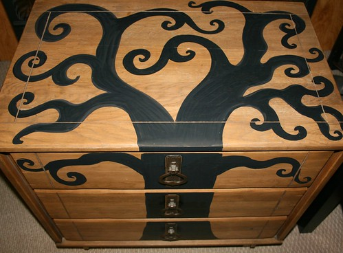 Three Drawer Dresser by Rick Cheadle Art and Designs