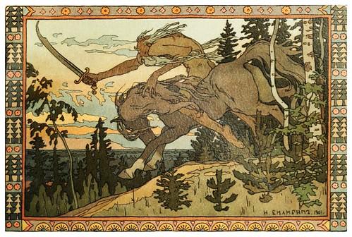 012--Maria Morevna -Russian-wonder tales ..1912-Ivan Jakovlevich Bilibin