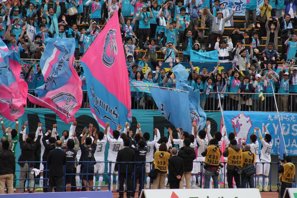 a scene at Tokushima Vortis vs Sagan Tosu (5)
