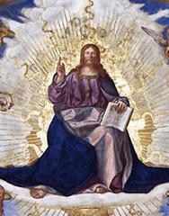 Boccaccino (1506), Cristo en majestad