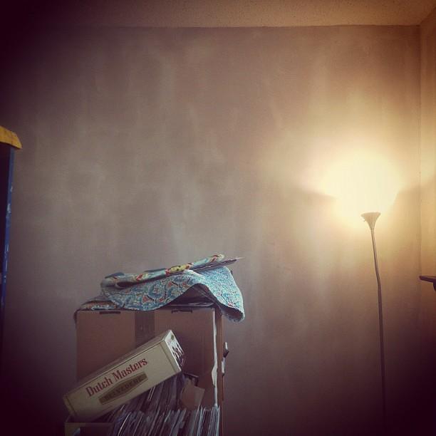 Skim coating the walls!