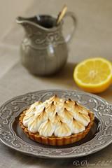 Tarte au citron meringuée - Lemon meringue pie