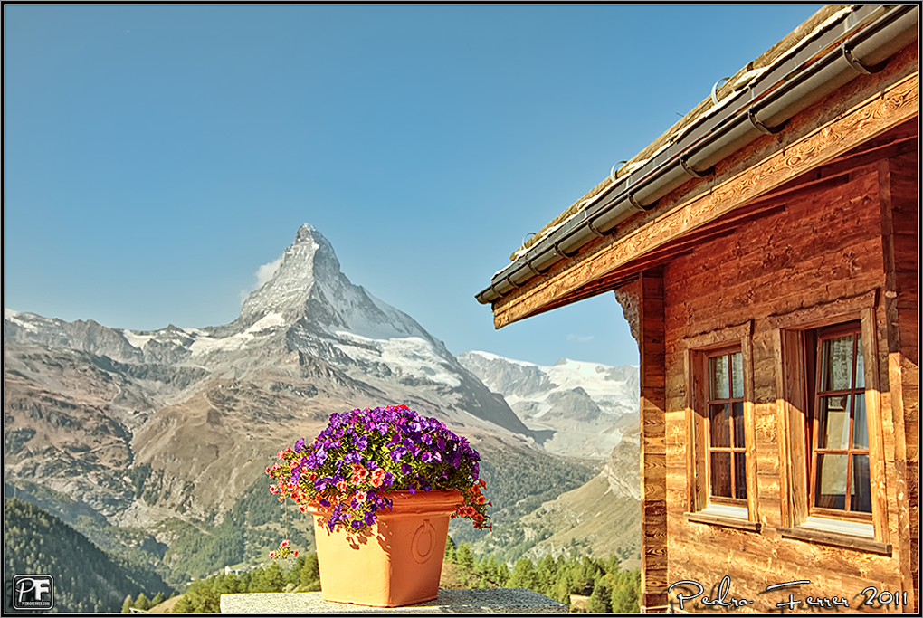 Suiza - Las montañas - Cervino desde Sunnegga