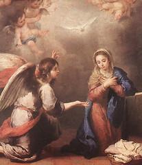 Bartolomé Murillo (+1682), La anunciación de María