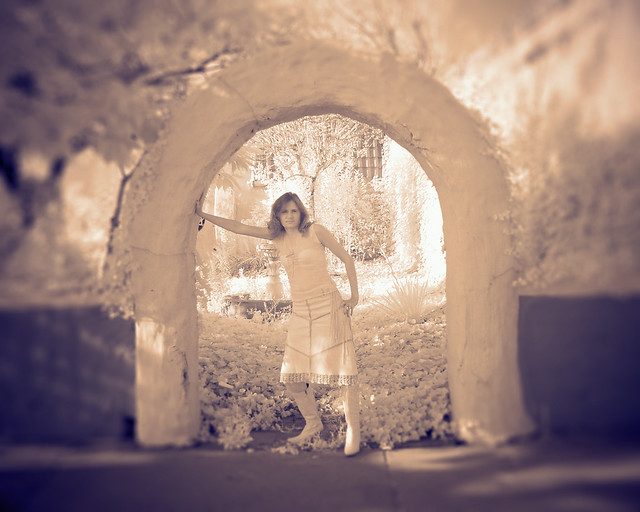 Infrared of my wife.