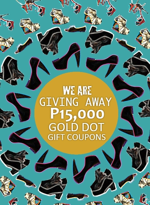 gold dot holiday giveaway and collection