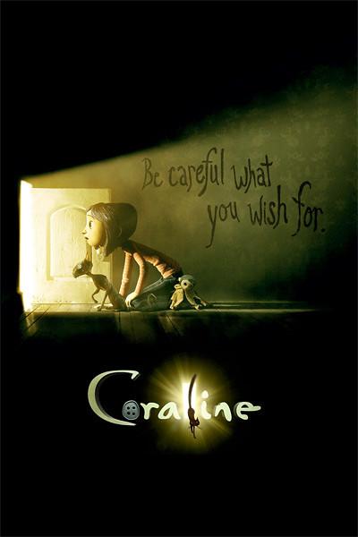 Коралина в Стране Кошмаров / Coraline (Генри Селик / Henry Selick) [2009 г., мультфильм, триллер, приключения, BDRip, HD + SD]