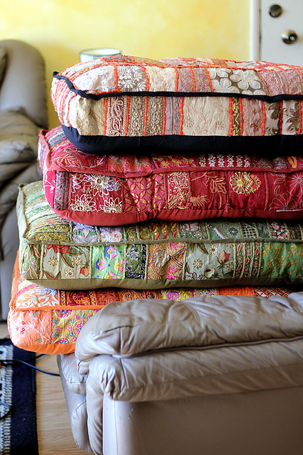 Sari Floor Cushions from Pier 1 Imports Flickr - Photo Sharing!