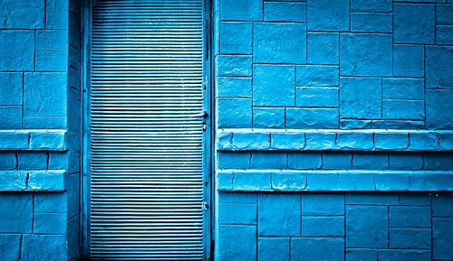 336/365 Geometría en azul por Juan R. Velasco