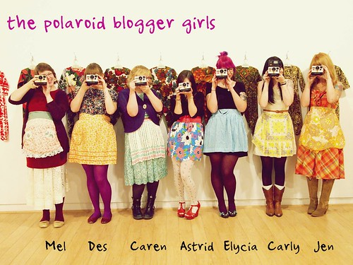 the tea party - the polaroid blogger girls