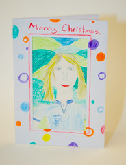 Help for Heroes Christmas cards for soldiers by Woodleigh School (28 of 34)