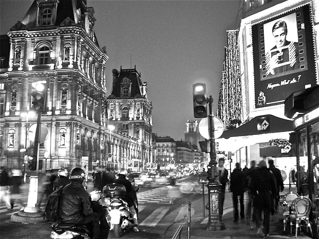Paris Street Corner