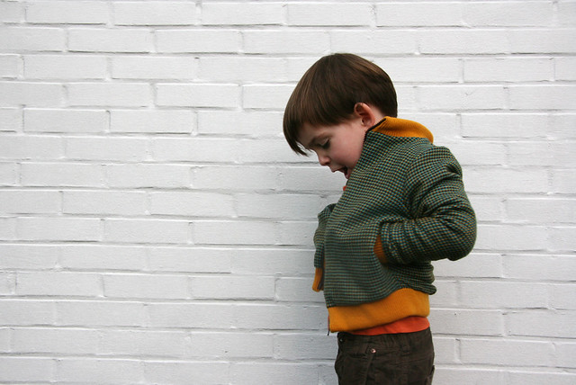 Woolen jacket for Nils