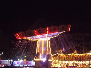 Birmingham Frankfurt Christmas Market - Centenary Square, Broad Street - Chair-o-planes