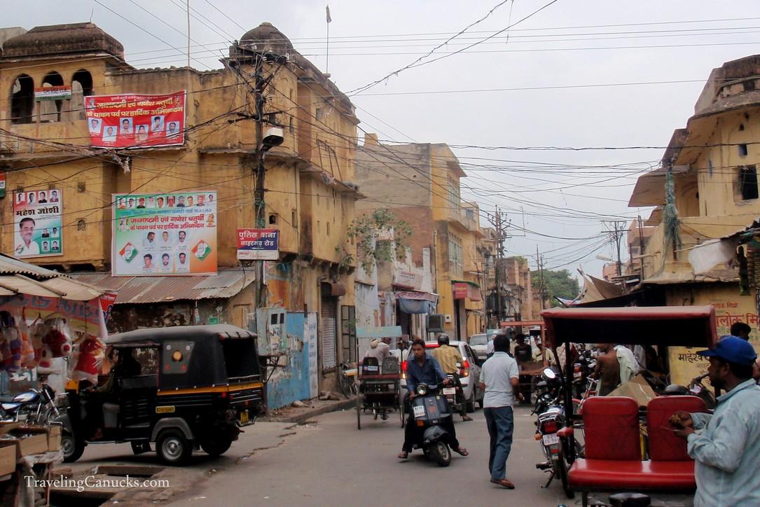 Backstreets of Jaipur